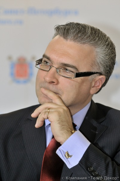 Антон Губанков- председатель Комитета по культуре Санкт-Петербурга